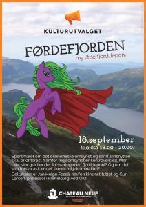 Førdefjorden plakat